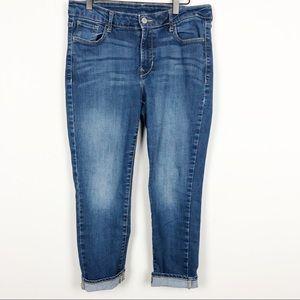 Old Navy Rockstar skinny cropped jean